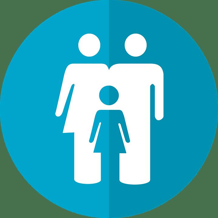 dessin famille enfant parents