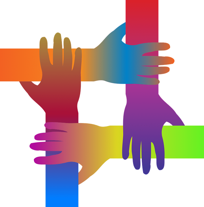 solidarité aide mains